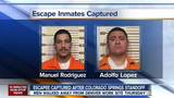 Two Escaped Convicts Captured in Colorado
