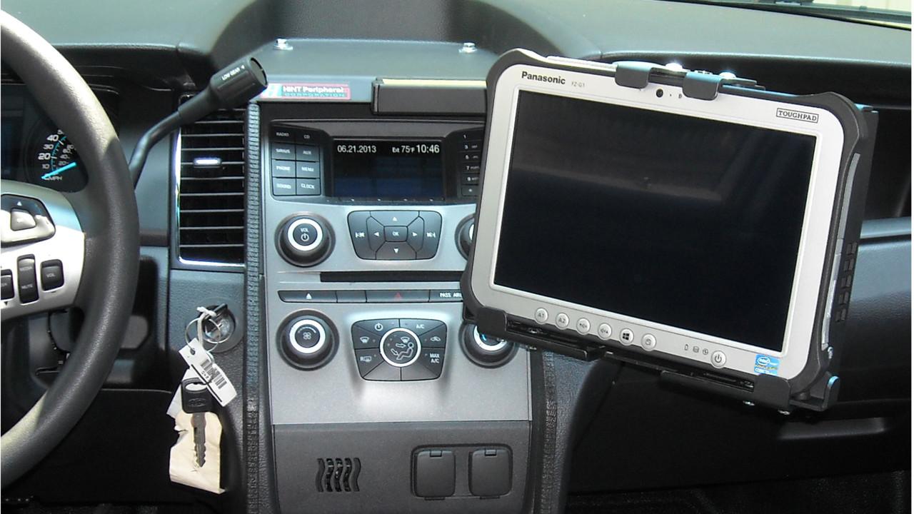 Tablet On Dash Mount For Ford Interceptor Tm 5124