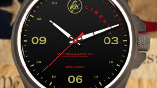 Minuteman Watches: MM02 PVD Liberty