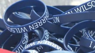 'I am Darren Wilson' Bracelets Banned