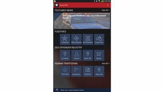 Texas Department of Public Safety (DSP) App