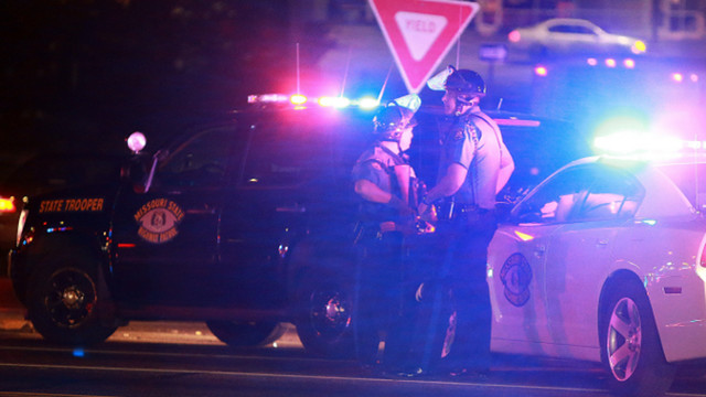 Ferguson Police Officer Shot; Suspects Sought