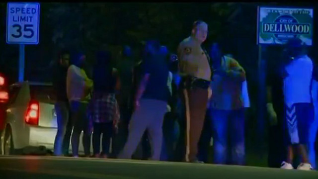 Ferguson Police Officer Shot in Arm
