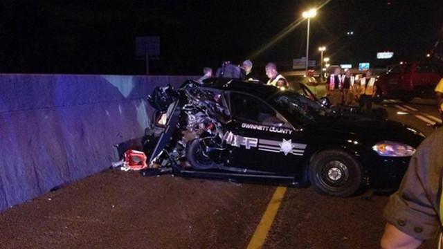Alleged Drunk Driver Slams Into Ga. Cruiser