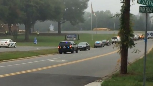 N.C. Student Shot, Two in Custody at School