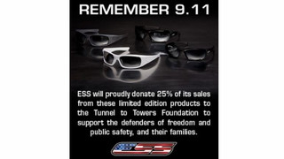 ESS Remembers 9.11 Eyewear Helps Raise Funers for the Stephan Siller Tunnel to Towers Foundation