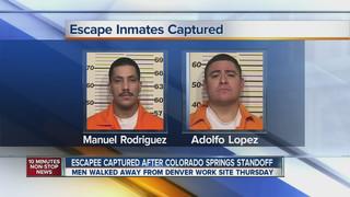 Two Escaped Convicts Captured in Colorado
