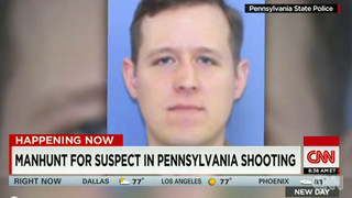 Manhunt on for Pa. Trooper's Killer