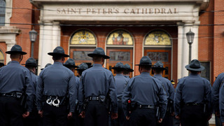 Pennsylvania State Trooper Laid to Rest
