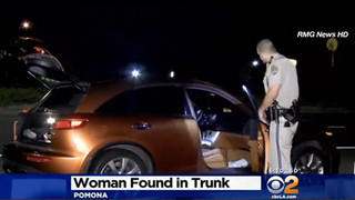 Kidnapped Woman Rescued From Trunk