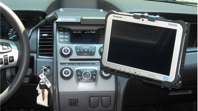 Tablet On-Dash Mount, for Ford Interceptor (TM-5124)