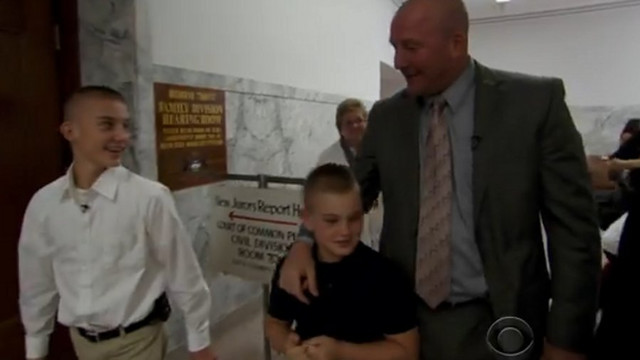 Pittsburgh Detective Officially Adopts Boys