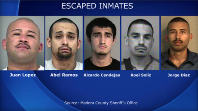 Fifth California Jail Escapee Captured