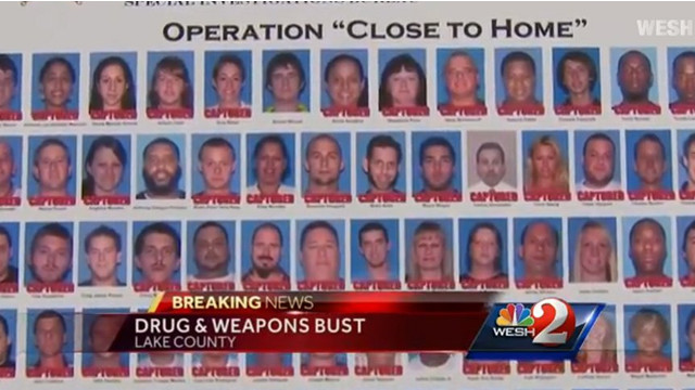 Florida Deputies Arrest 67 in Bust