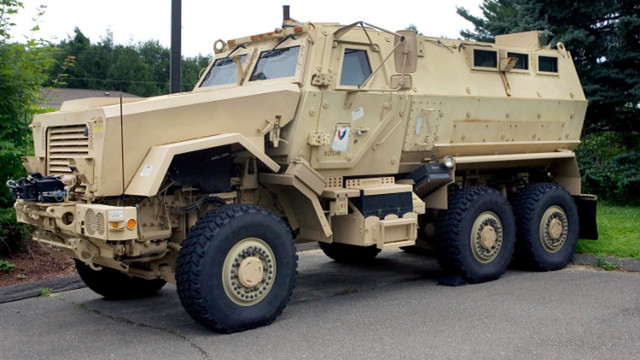 Some School Districts to Give Back Military Gear