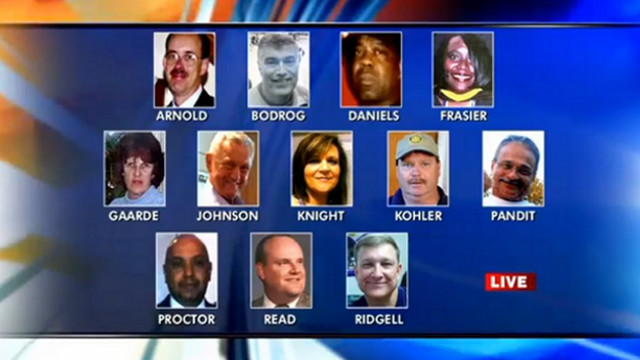 Navy Yard Shooting Victims Honored