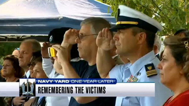 Tributes Held for Navy Yard Shooting Victims
