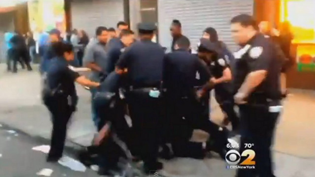 NYPD Cop Suspended Over Video of Beating