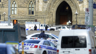 Shots Ring Out at Canada's Parliament