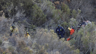 Driver Rescued From California Ravine
