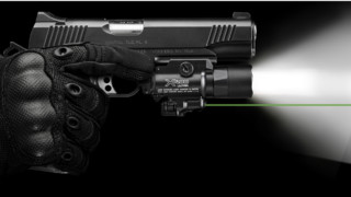 X400 Ultra — Green Laser - LED Handgun or Long Gun WeaponLight with Laser
