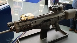 Beretta ARX Carbine with T Worx Intelligent Rail™ on display and ready for upcoming Army AUSA Expo