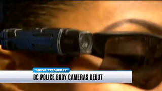 D.C. Officers Begin Wearing Body Cameras