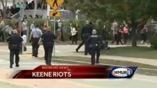 Police From Across N.H.Respond to College Riots