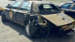 Maryland Trooper Struck Making Stop