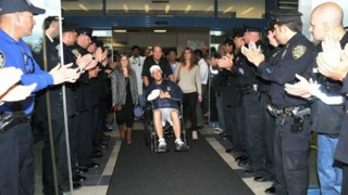 Attacked NYPD Officer Leaves Hospital