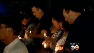 Vigil Held for Slain Calif. SWAT Officer