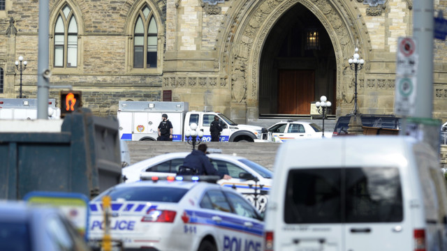 Soldier, Gunman Dead in Canada Shootings