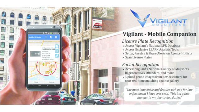 Vigilant Solutions Set to Unveil Mobile Companion App at IACP 2014 in Orlando