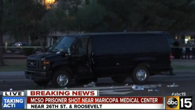 Arizona Inmate Killed Fleeing Transport