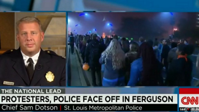 St. Louis Police Chief Talks About Protests