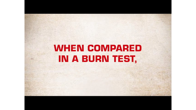 Eagle Shield - Burn Test