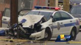 Baltimore Officer Critically Injured in Crash