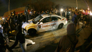 Violence After No Indictment in Ferguson