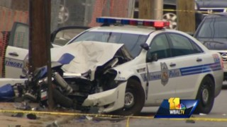 Baltimore Officer Critically Injured