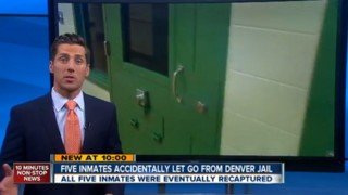Colo. Jail Mistakenly Released Inmates