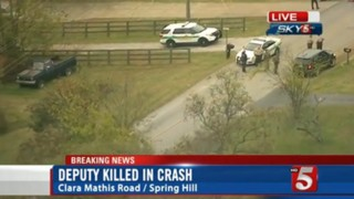 Tennessee Deputy Killed In Crash