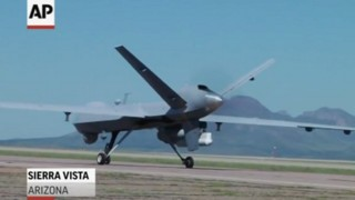 U.S. Drones Patrol Half of Mexico Border