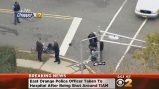 N.J. Police Officer Shot; Suspect Arrested