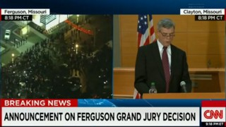 Video: Ferguson Grand Jury Announcement