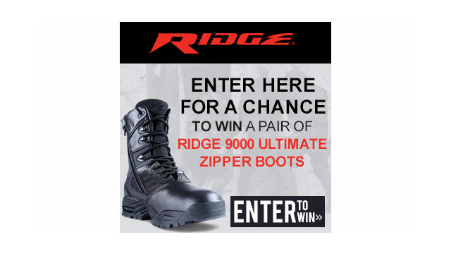 Enter to Win a Pair of Ridge 900 Ultimate Zipper Boots