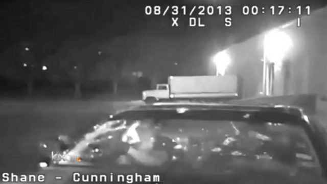 Dashcam: Texas Officer Opens Fire on Vehicle