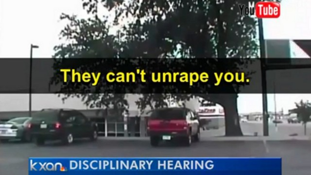 Austin Officers Suspended Over Rape Joke