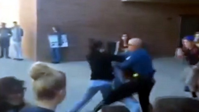Video Shows Fight at School Involving Officer