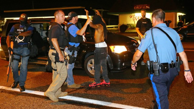 Records Reveal Divide on Ferguson Tactics