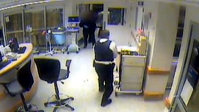 Surveillance Video Shows Ill. Hospital Shooting